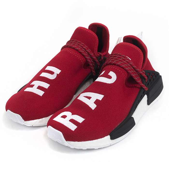 Pharrell Williams X Adidas Human Race NMD RedBlackWhite